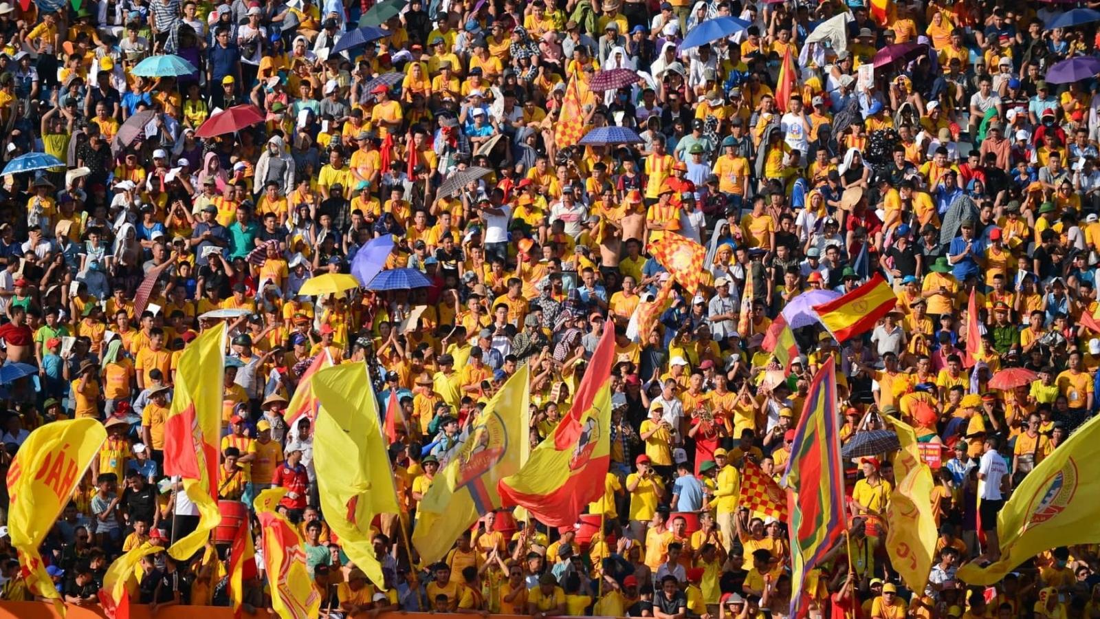Quy định khắt khe dành cho các CĐV vào sân xem trận Nam Định - HAGL