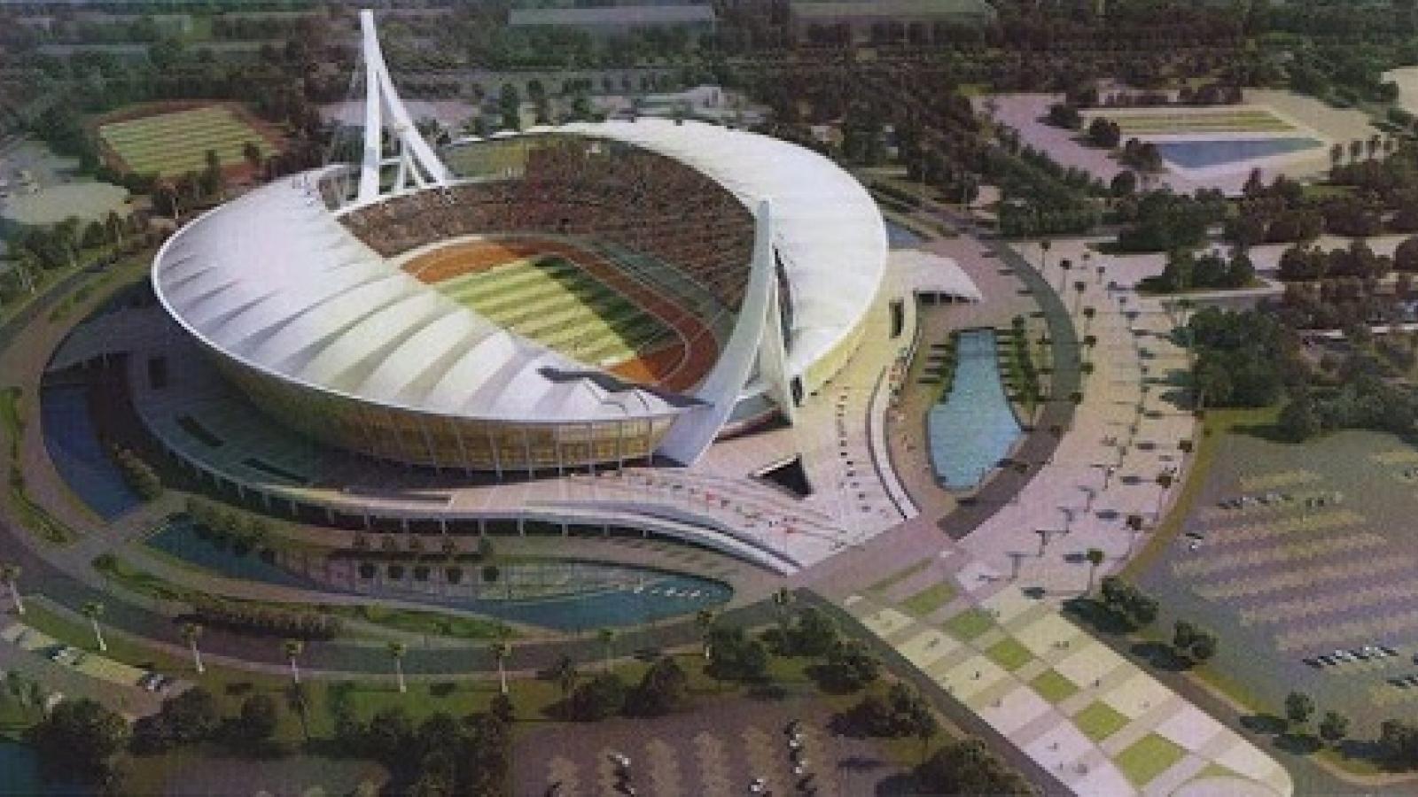 Campuchia sắp khánh thành sân vận động 75000 chỗ phục vụ SEA Games 32