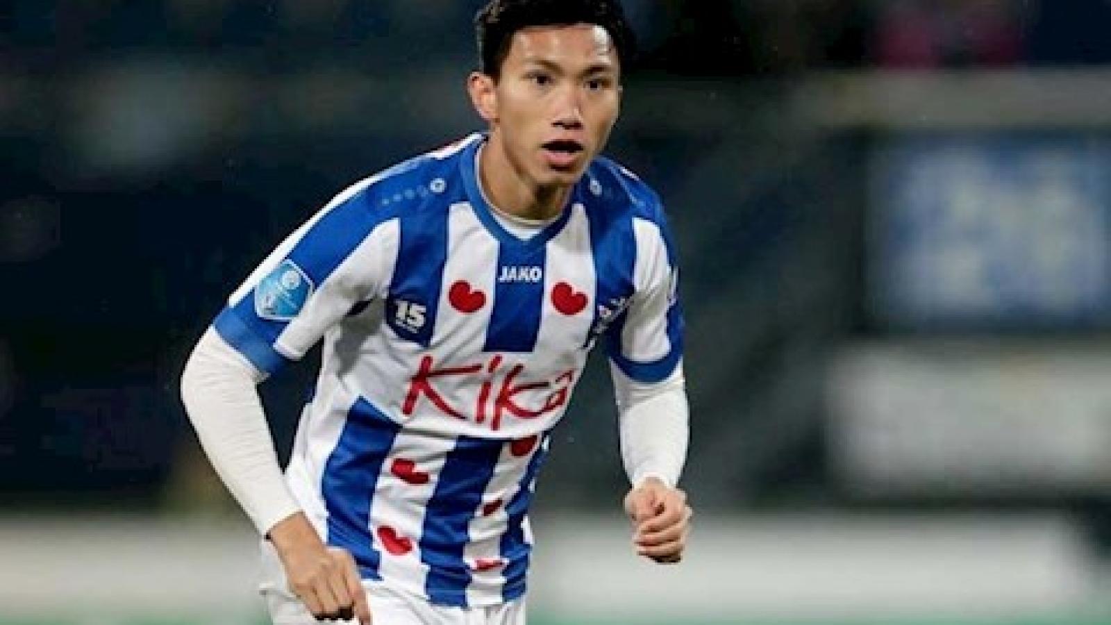 SC Heerenveen đang đàm phán gia hạn hợp đồng với Văn Hậu