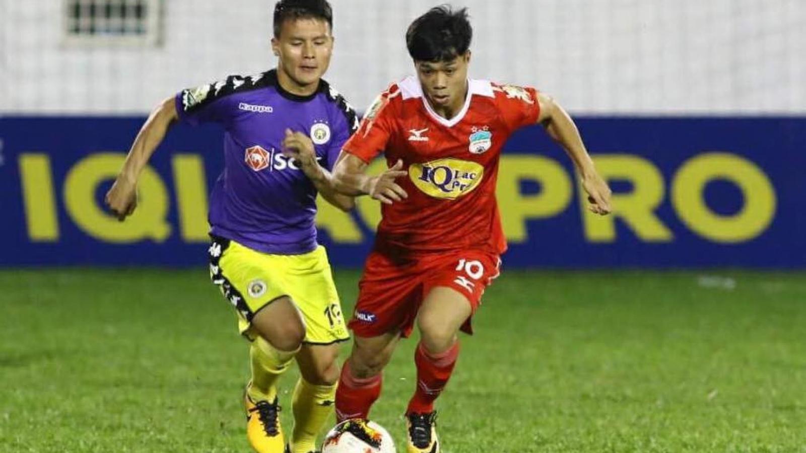 """Ngày này năm xưa: HAGL """"đại chiến"""" Hà Nội FC trong trận cầu kinh điển"""