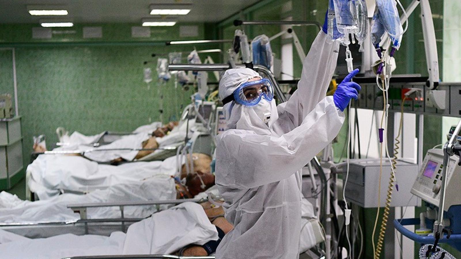 Nga ngày thứ 2 ghi nhận số ca nhiễm Covid-19 thấp hơn 10.000