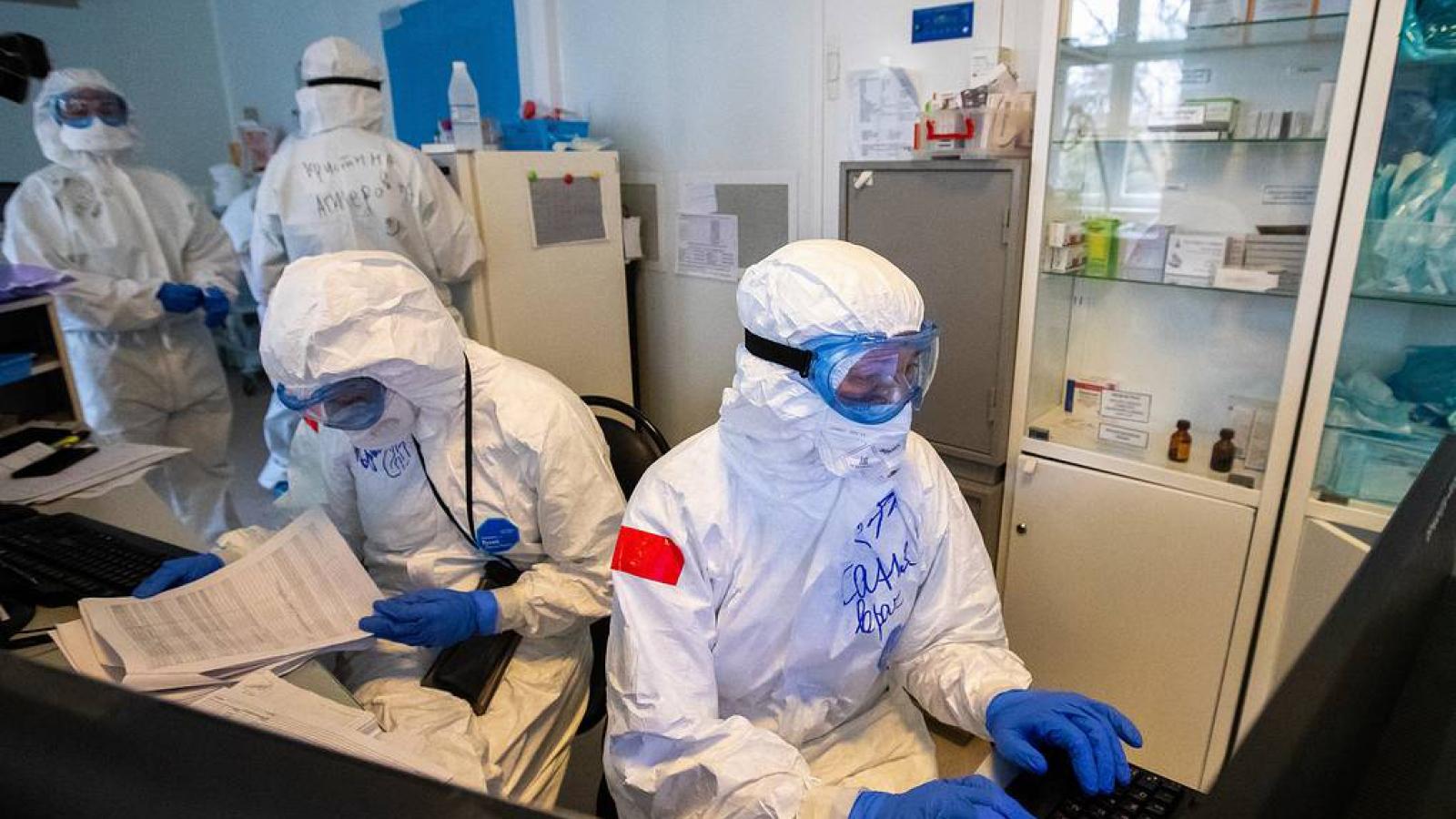 Nga ghi nhận số ca mắc Covid-19 dưới 9.000 trong hai ngày liên tiếp
