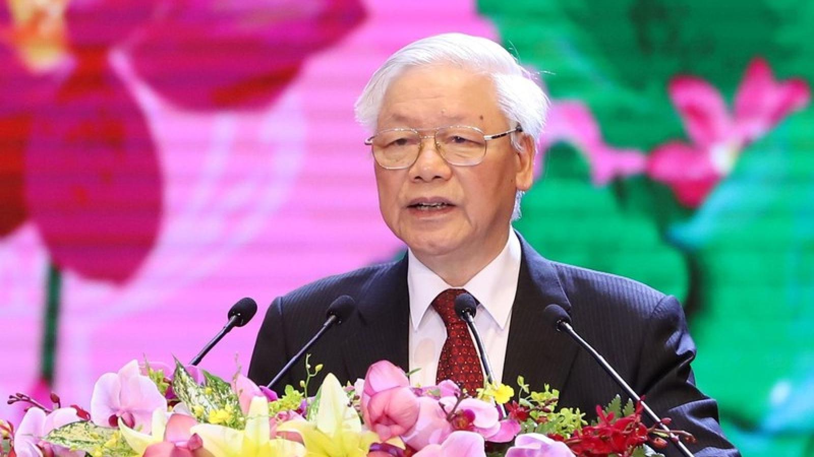 Toàn cảnh Lễ kỷ niệm 130 năm ngày sinh Chủ tịch Hồ Chí Minh