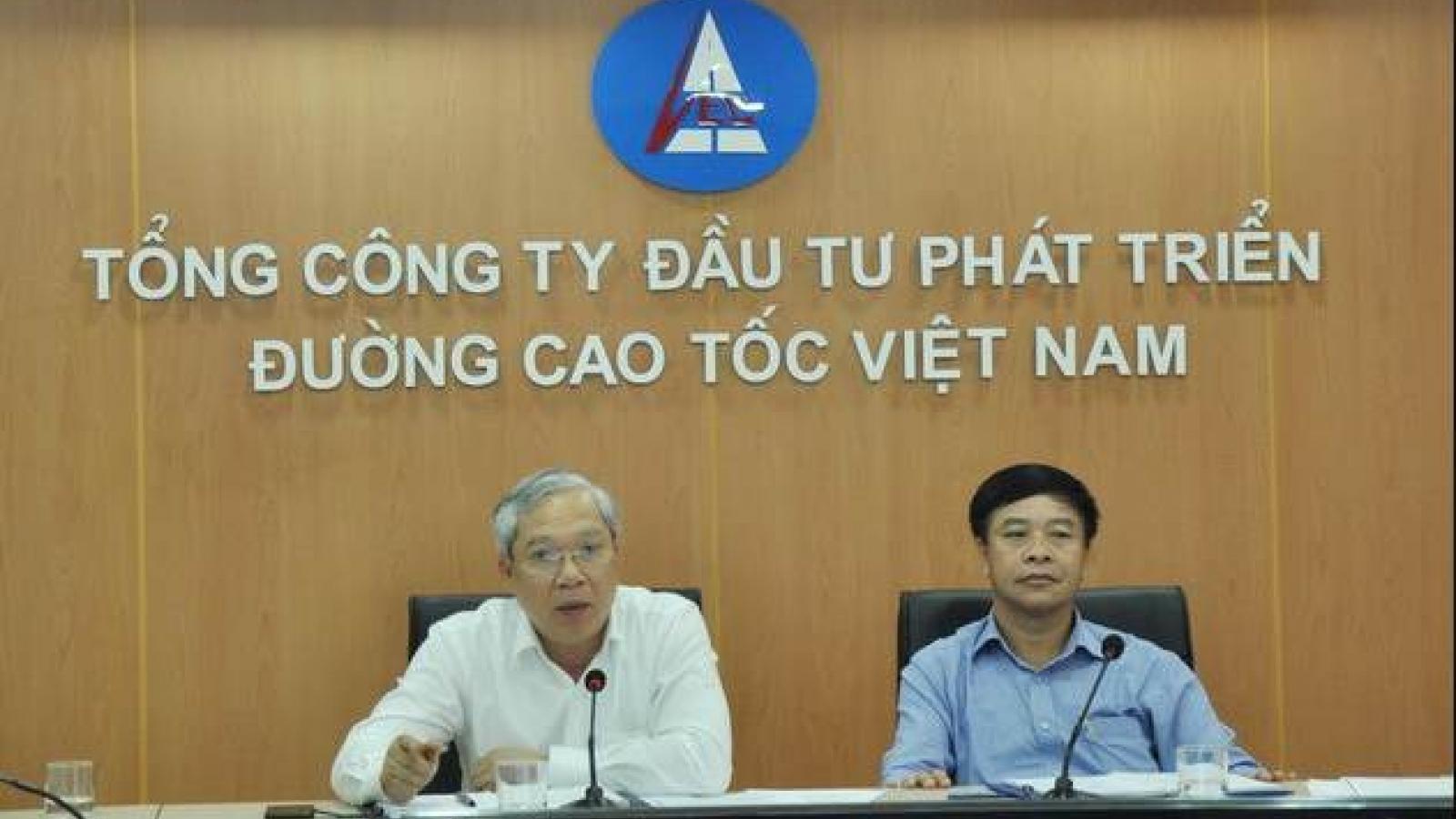 Xem xét kỷ luật Ban Thường vụ Đảng ủy Tổng Công ty Đầu tư phát triển đường cao tốc VN