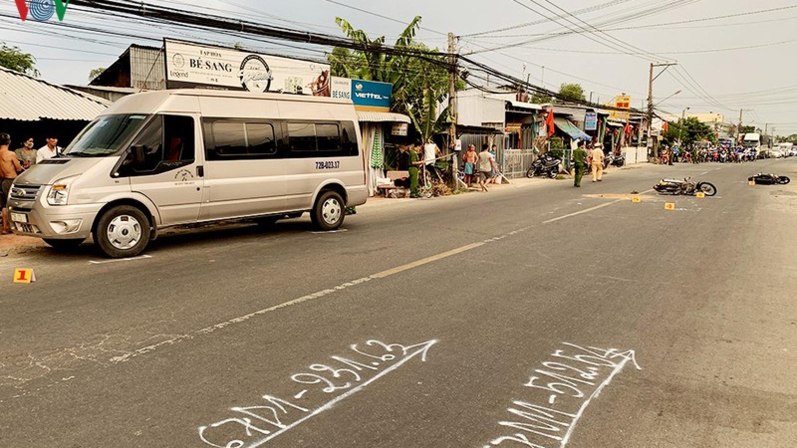 Tai nạn giao thông liên hoàn làm 1 người chết, 4 người bị thương