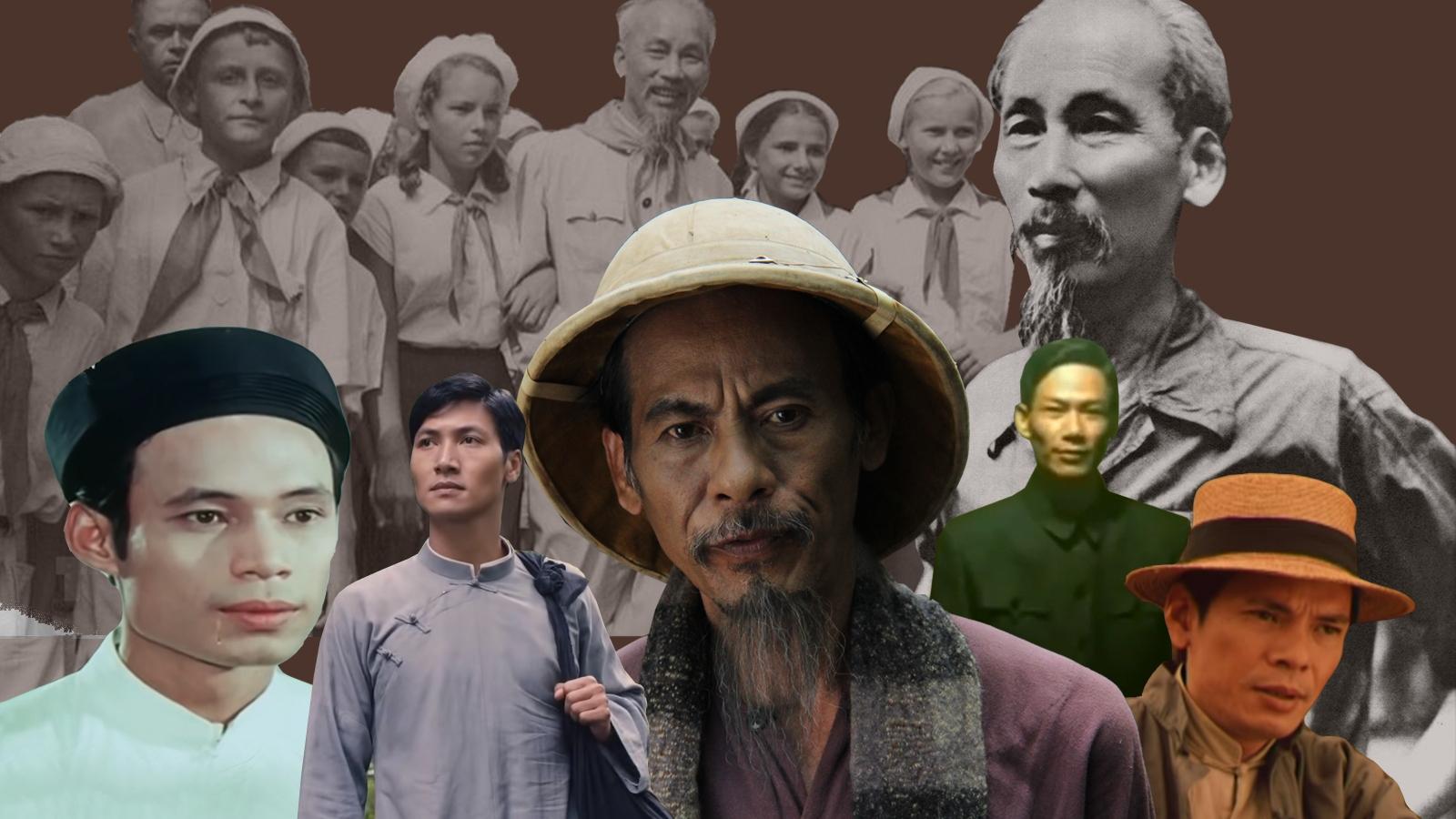 Infographic: Những diễn viên từng thể hiện thành công vai Bác Hồ