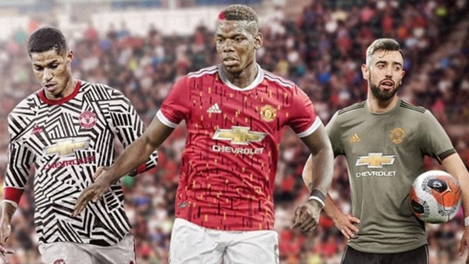 Lộ diện áo đấu mùa giải 2020/2021: Bayern được khen, MU bị chê