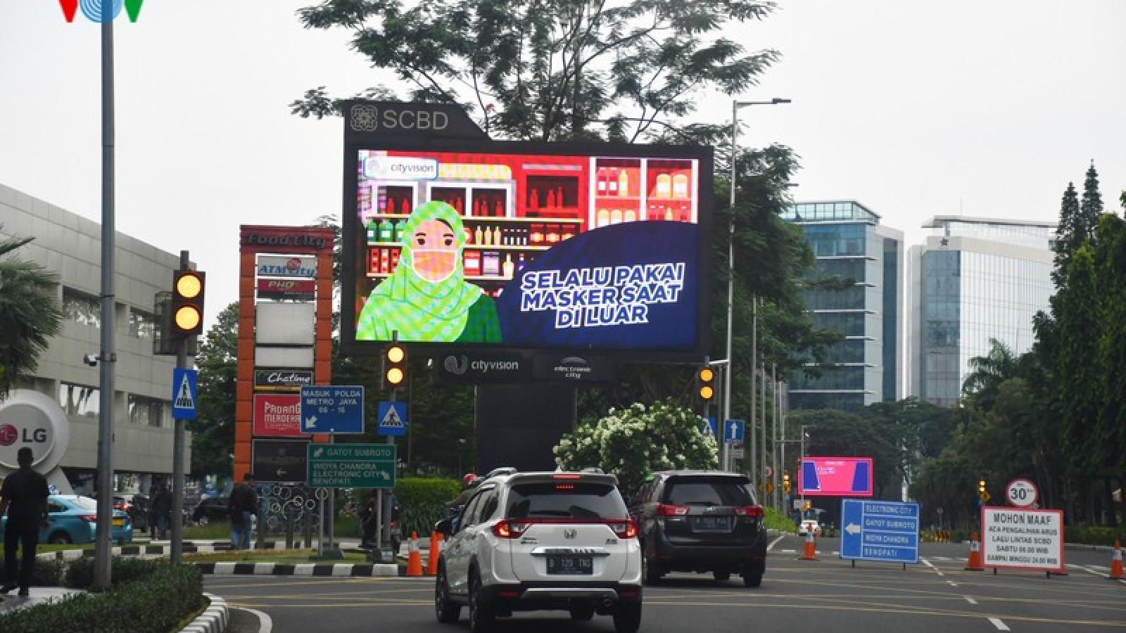 Số ca mắc Covid-19 tại Indonesia vượt ngưỡng 10.000 người
