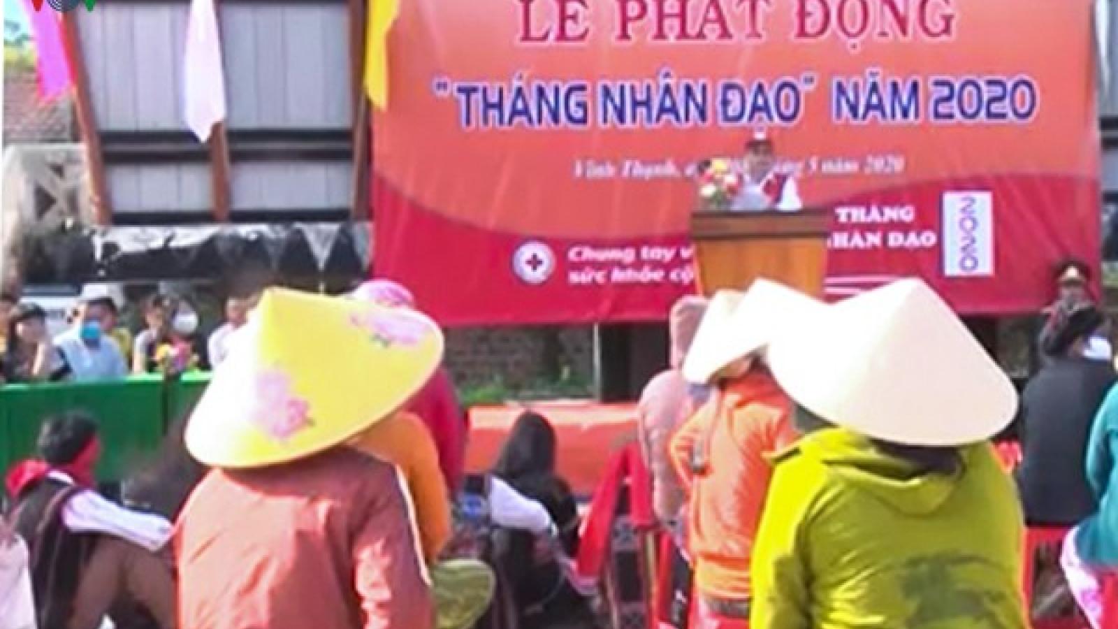 """""""Phiên chợ 0 đồng"""" về với đồng bào thiểu số nghèo ở Vĩnh Thạnh-Bình Định"""