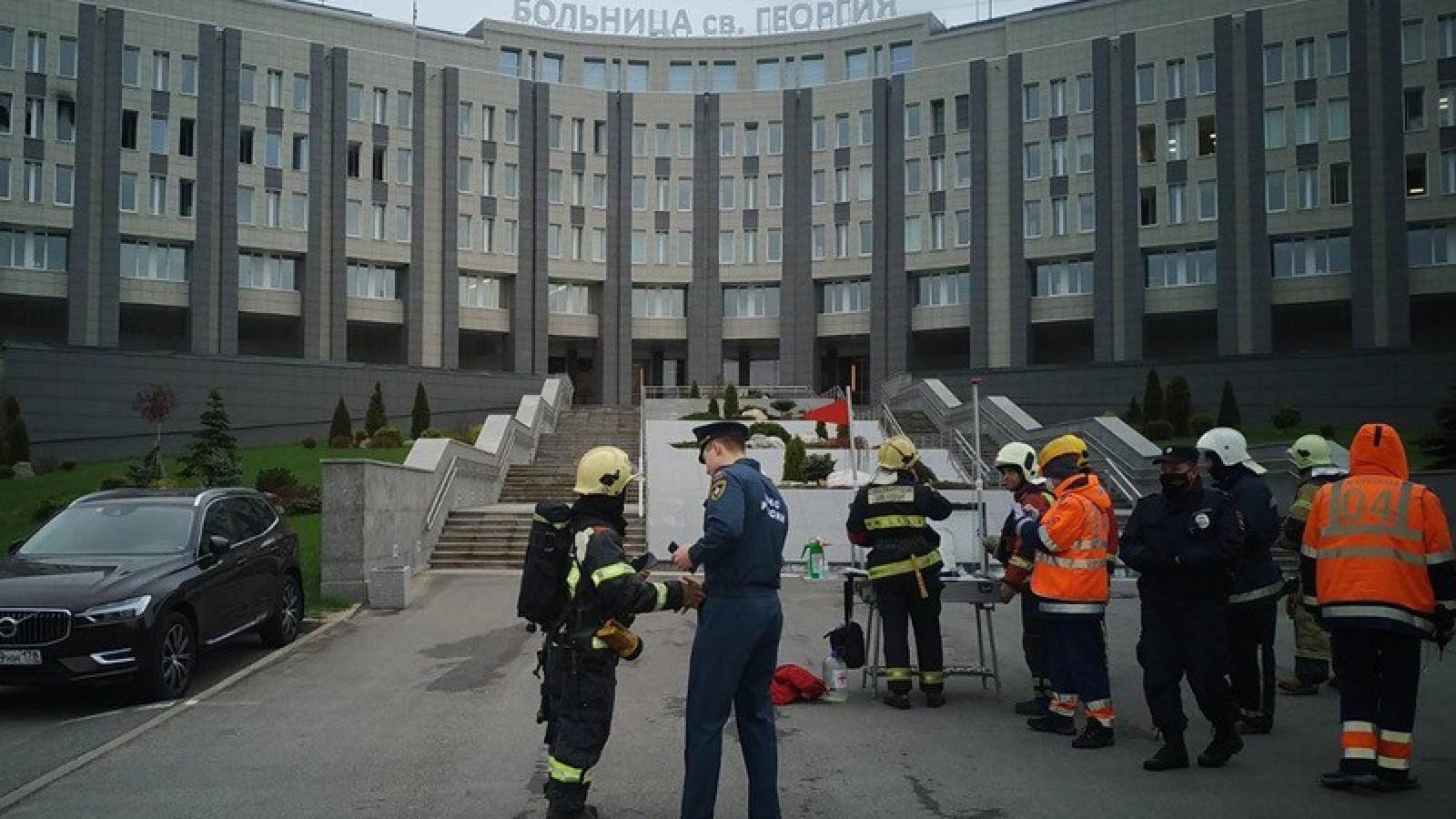 Vụ cháy bệnh viện ở Nga: 5 bệnh nhân thiệt mạng khi thở máy