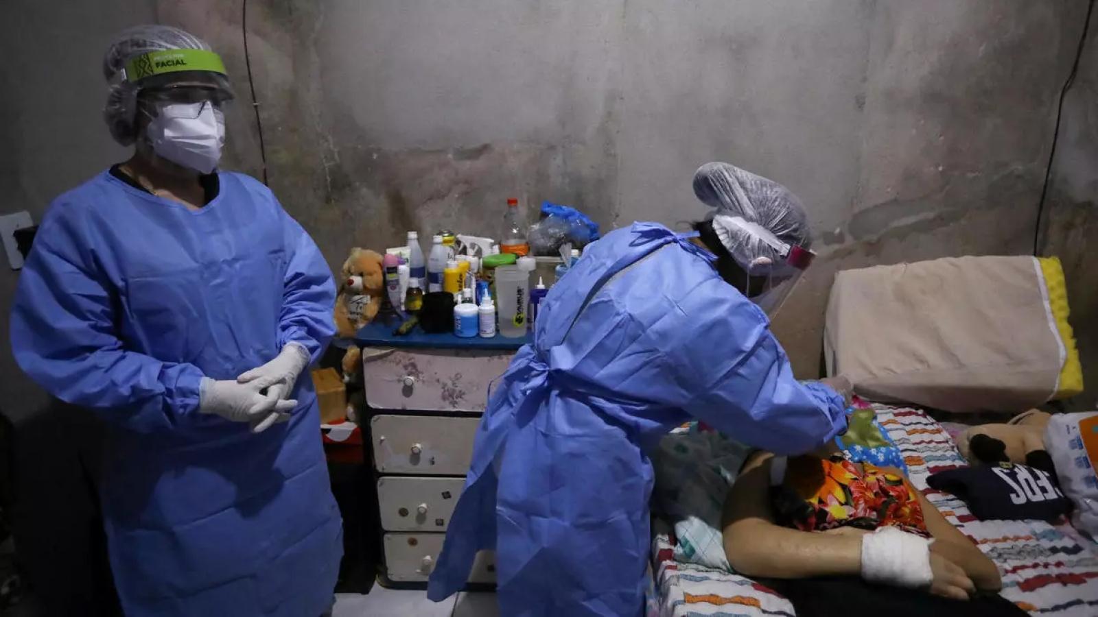 Brazil vượt Tây Ban Nha về số người chết do dịch Covid-19
