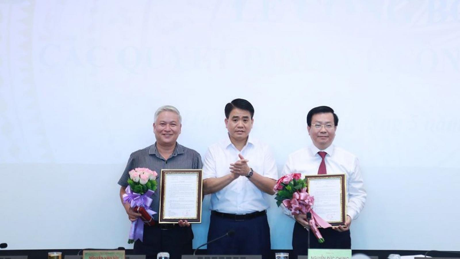 Hà Nội bổ nhiệm Chủ tịch quận Đống Đa làm Giám đốc Sở Xây dựng