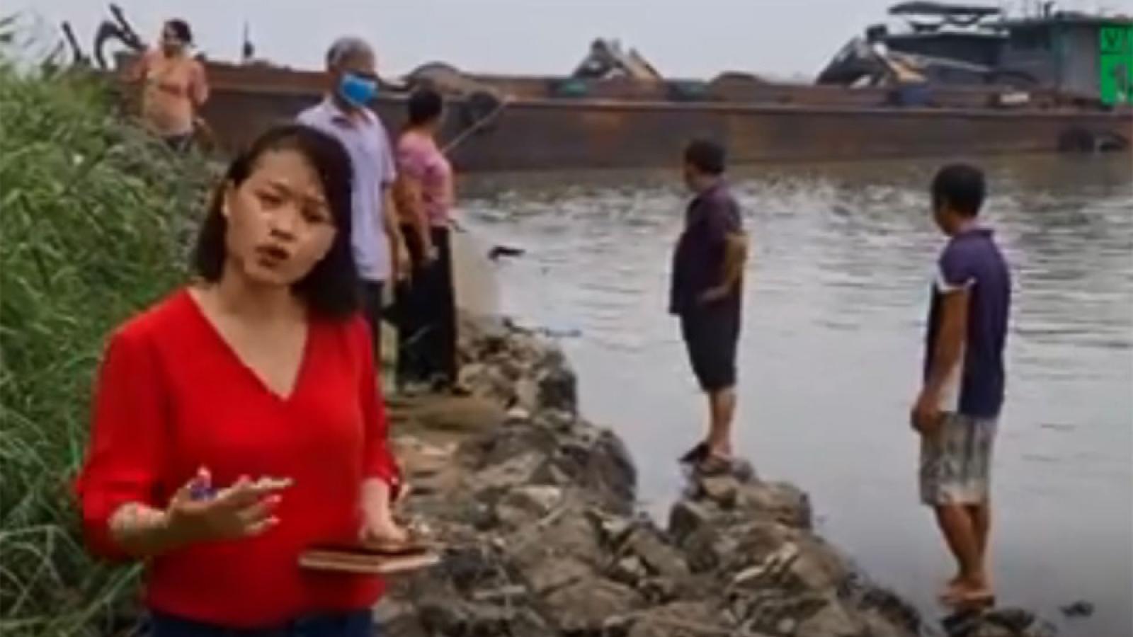 Người dân Hà Nội khốn khổ vì nạn khai thác cát