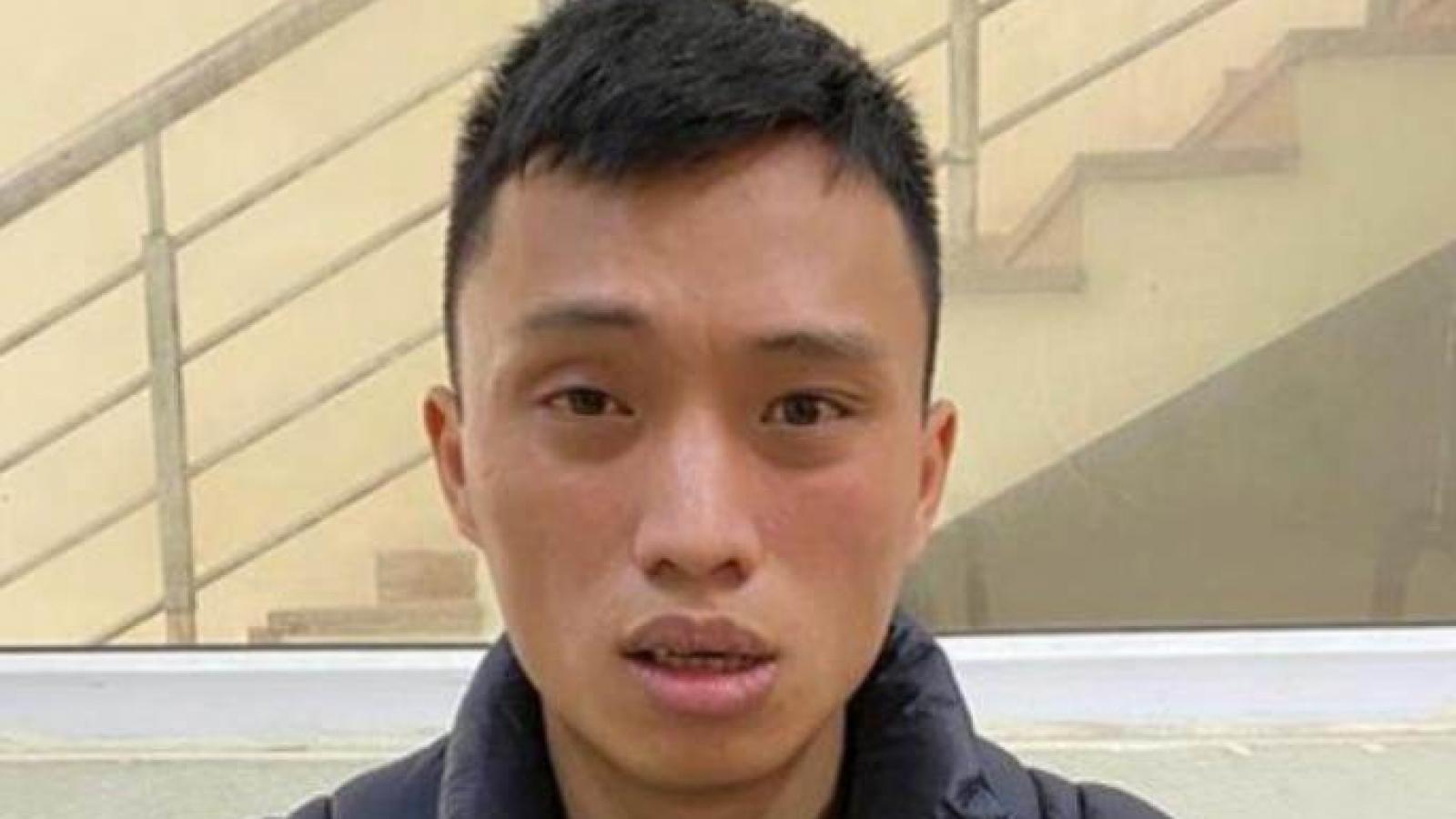 Tạm giữ hình sự nam thanh niên giết vợ con tại Hà Nội
