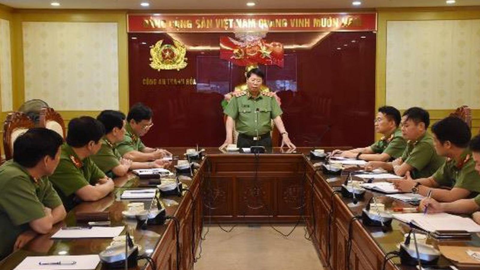 Phó Cục trưởng Cục An ninh mạng làm Giám đốc Công an tỉnh Thanh Hóa