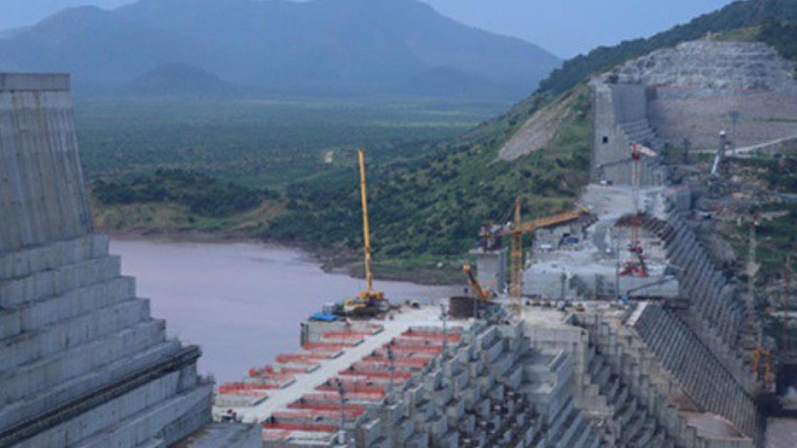 Ethiopia sẽ đổ đầy đập thủy điện Phục hưng bất chấp 2 nước hạ nguồn