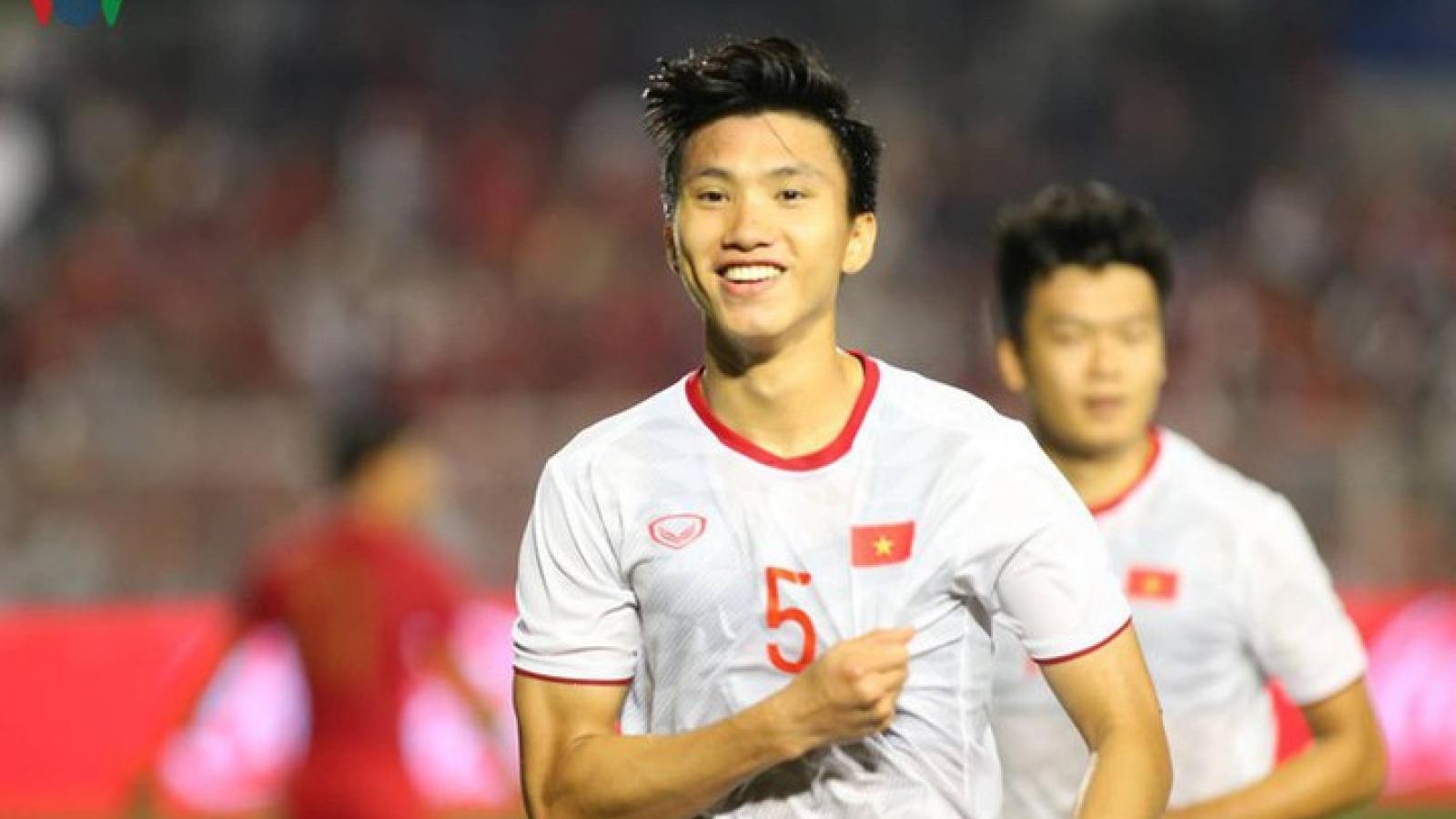 Đoàn Văn Hậu góp mặt trong danh sách bình chọn hậu vệ hay nhất châu Á