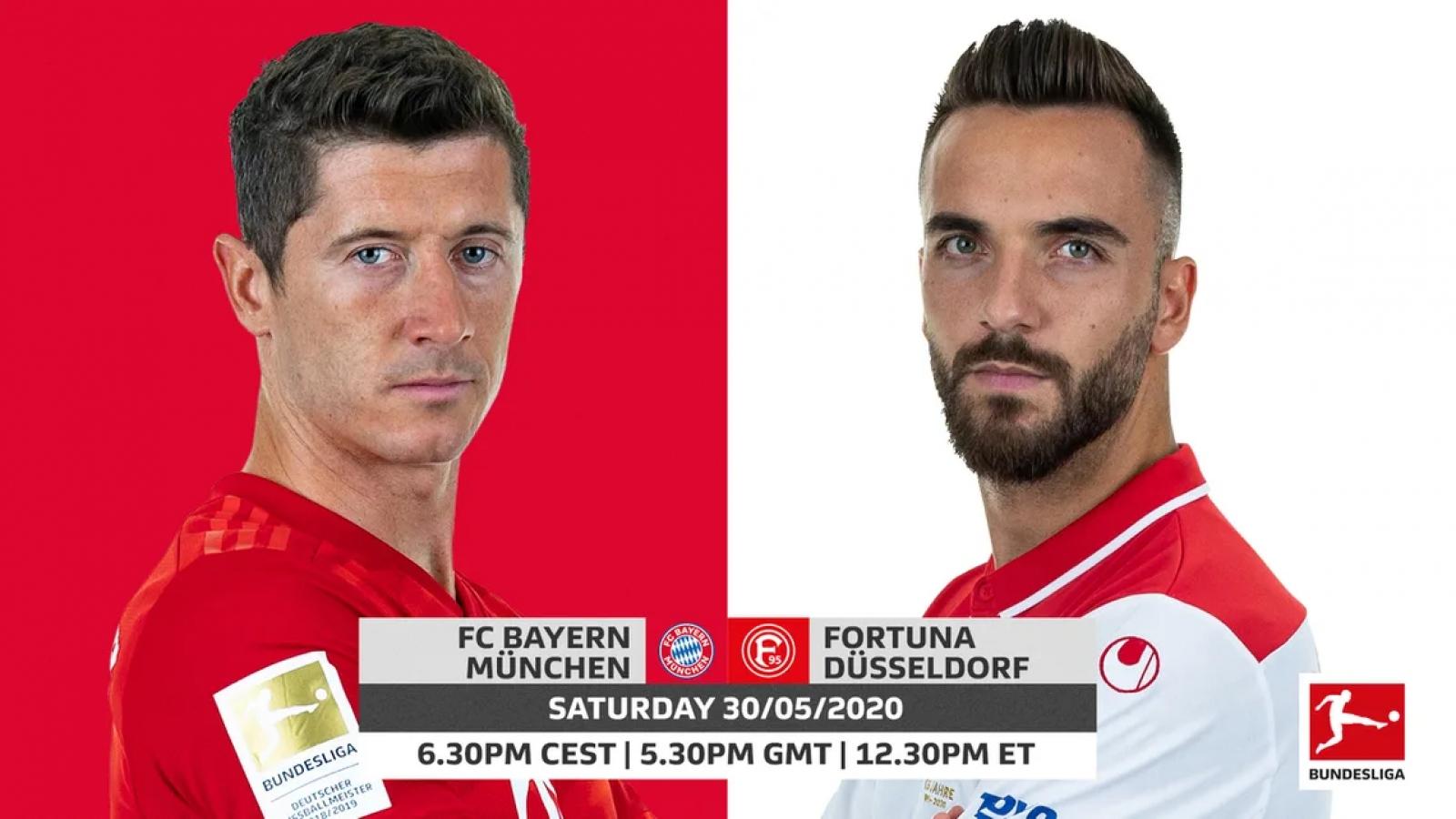 """Đội hình """"công cường thủ mạnh"""" hứa hẹn giúp Bayern hạ đẹp Dusseldorf"""