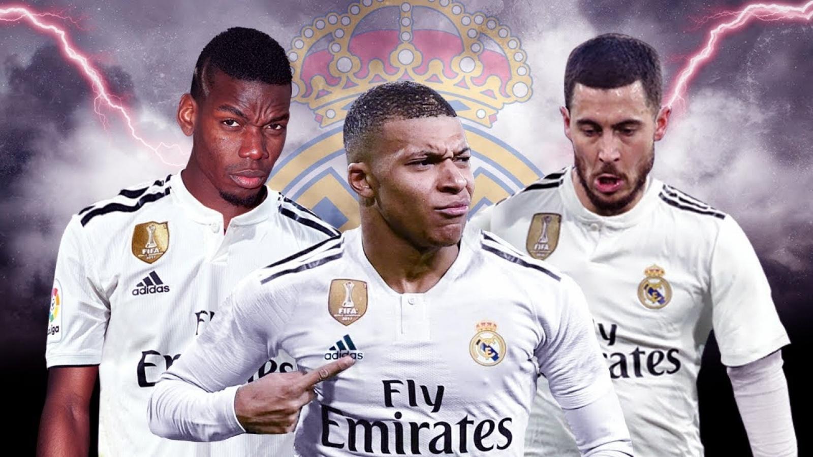 Đội hình Galacticos 3.0 của Real Madrid khiến cả châu Âu phải khiếp sợ