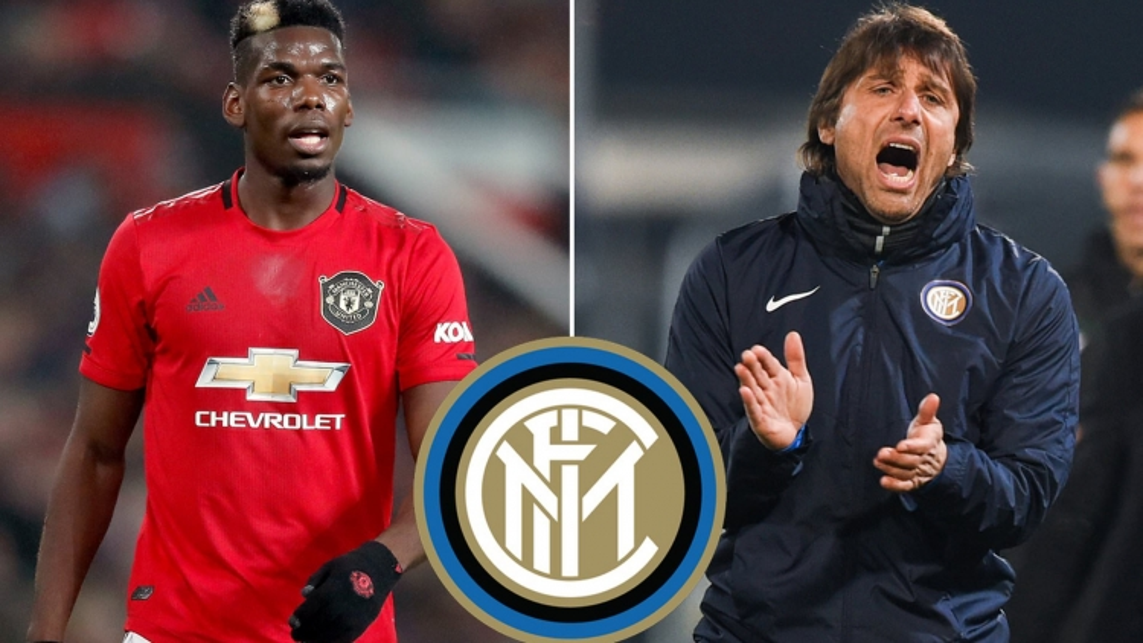 Đội hình đẹp như mơ của Inter Milan khi có được Paul Pogba từ MU