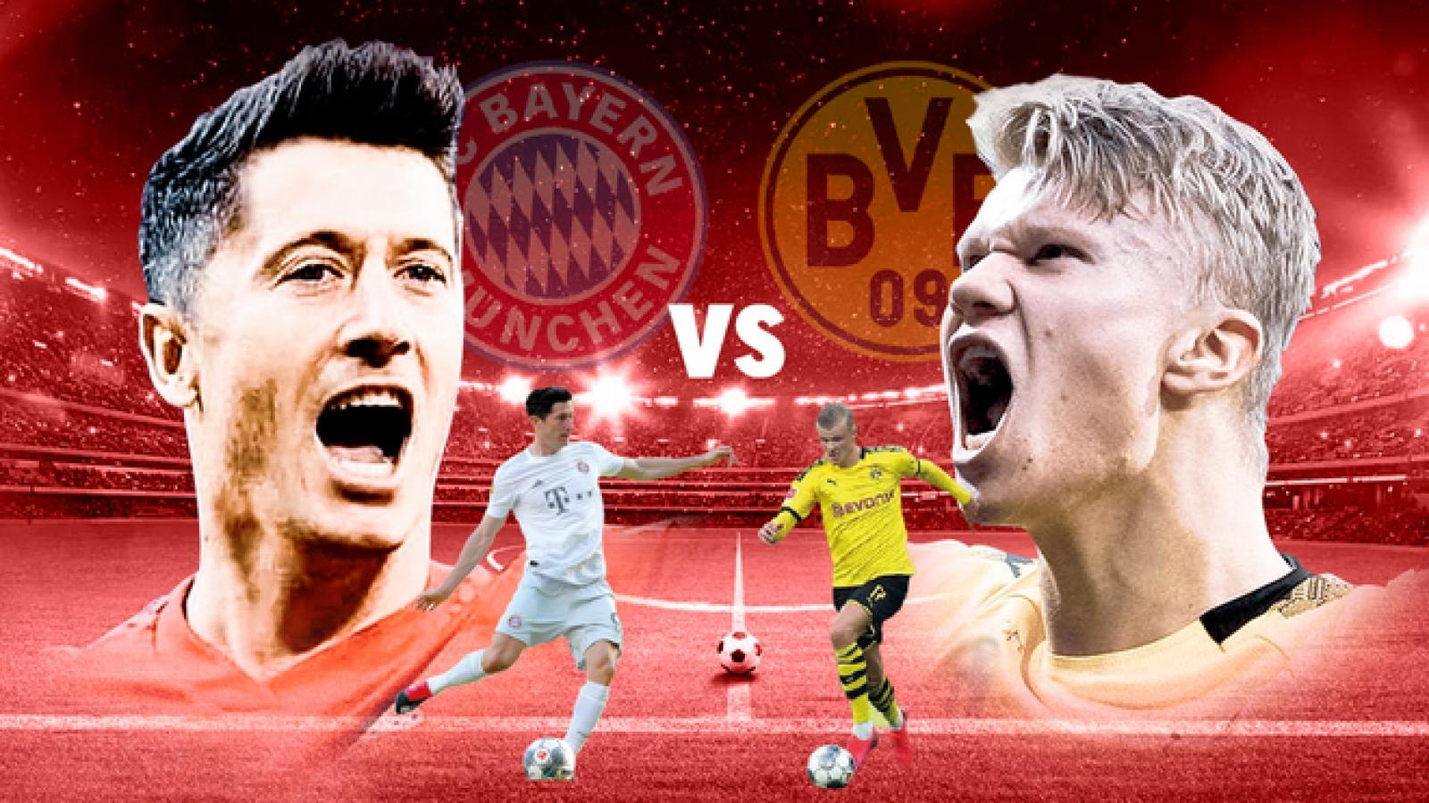 Đội hình kết hợp đẹp như mơ giữa Dortmund và Bayern Munich