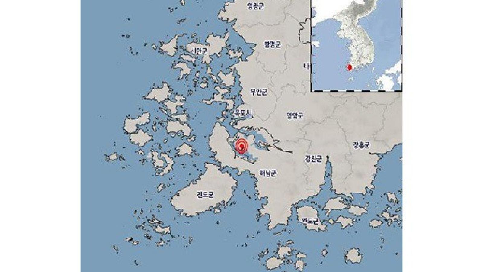 Hàn Quốc và Nhật Bản liên tiếp tiếp hứng chịu động đất và rung chấn