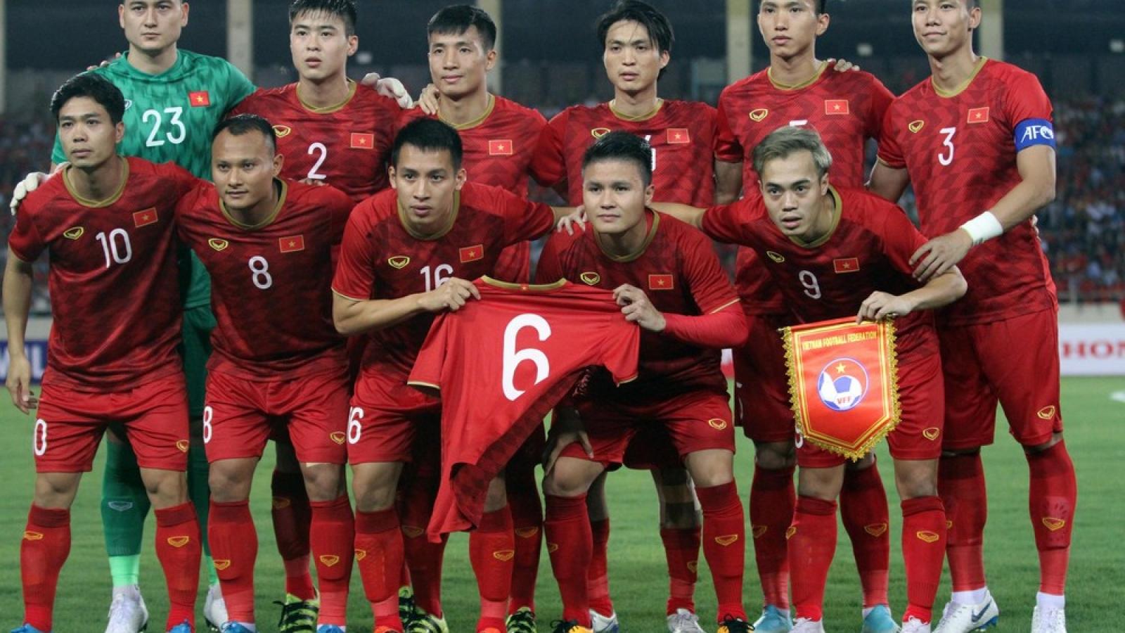 ĐT Việt Nam dự kiến hội quân vào tháng 9