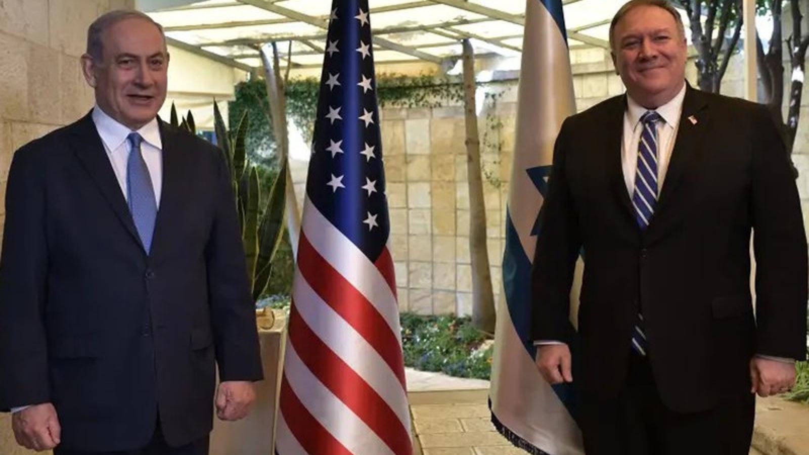 Ngoại trưởng Mỹ thăm Israel bàn luận về Iran và dịch Covid-19