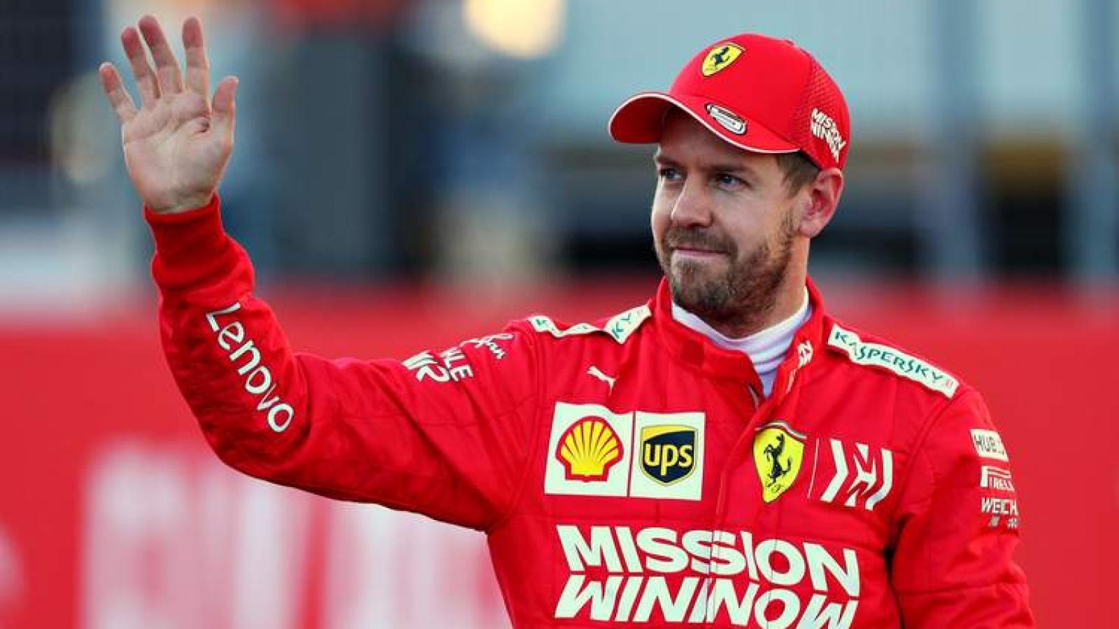 Ferrari chính thức thông báo chia tay Sebastian Vettel