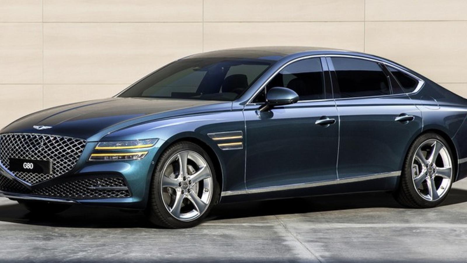 Genesis G70 2021 có thể đối đầu với A7 Sportback?