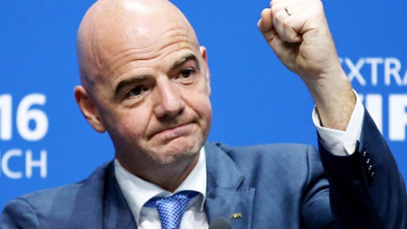 Chủ tịch FIFA cảm ơn, khen ngợi bóng đá Việt Nam