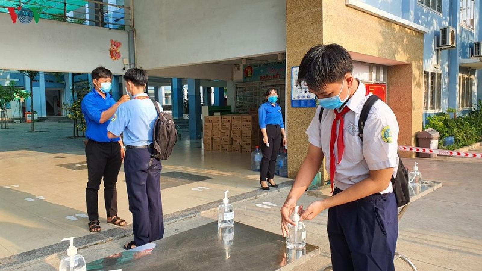 Học sinh quay trở lại trường, cần lưu ý những gì?