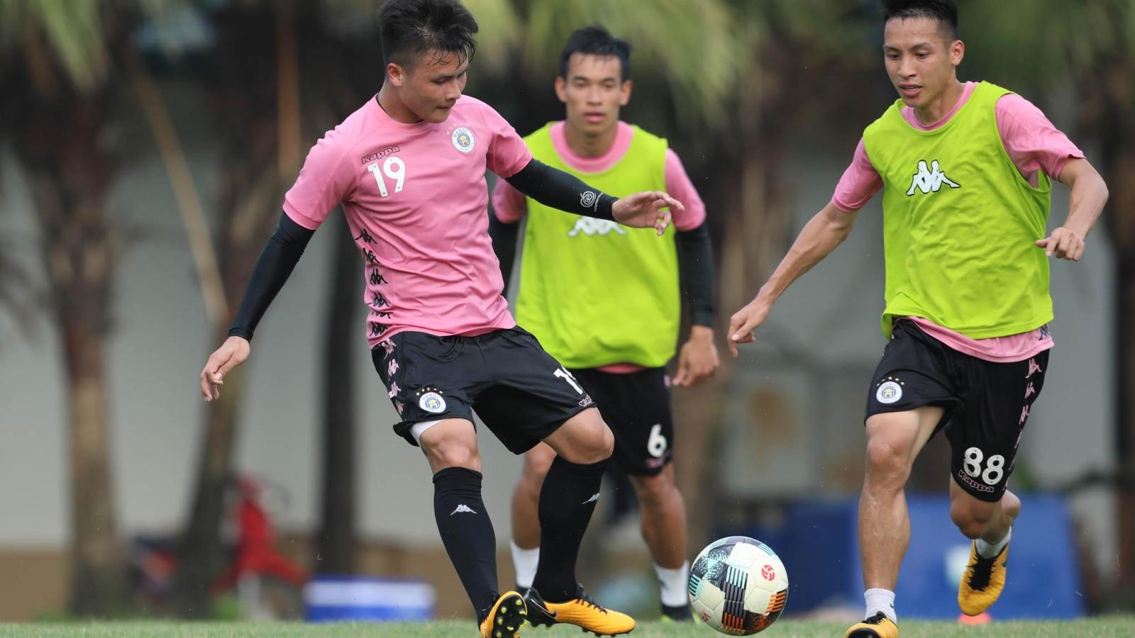 Hà Nội FC đá giao hữu với ứng viên vô địch V-League 2020