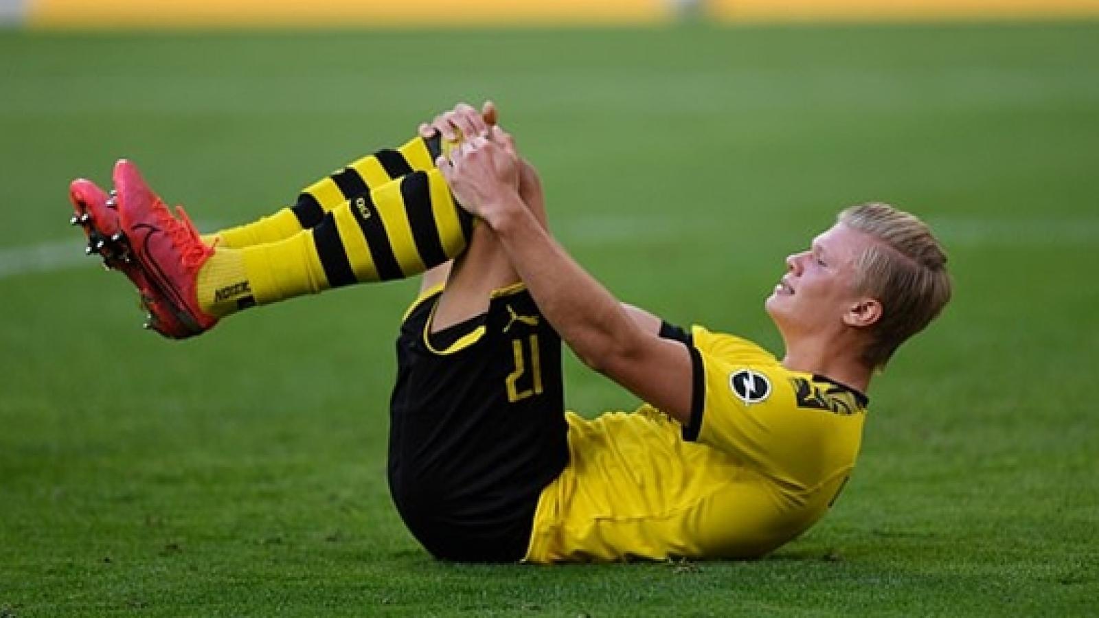 Erling Haaland chấn thương, Dortmund vừa thua vừa thiệt trước Bayern