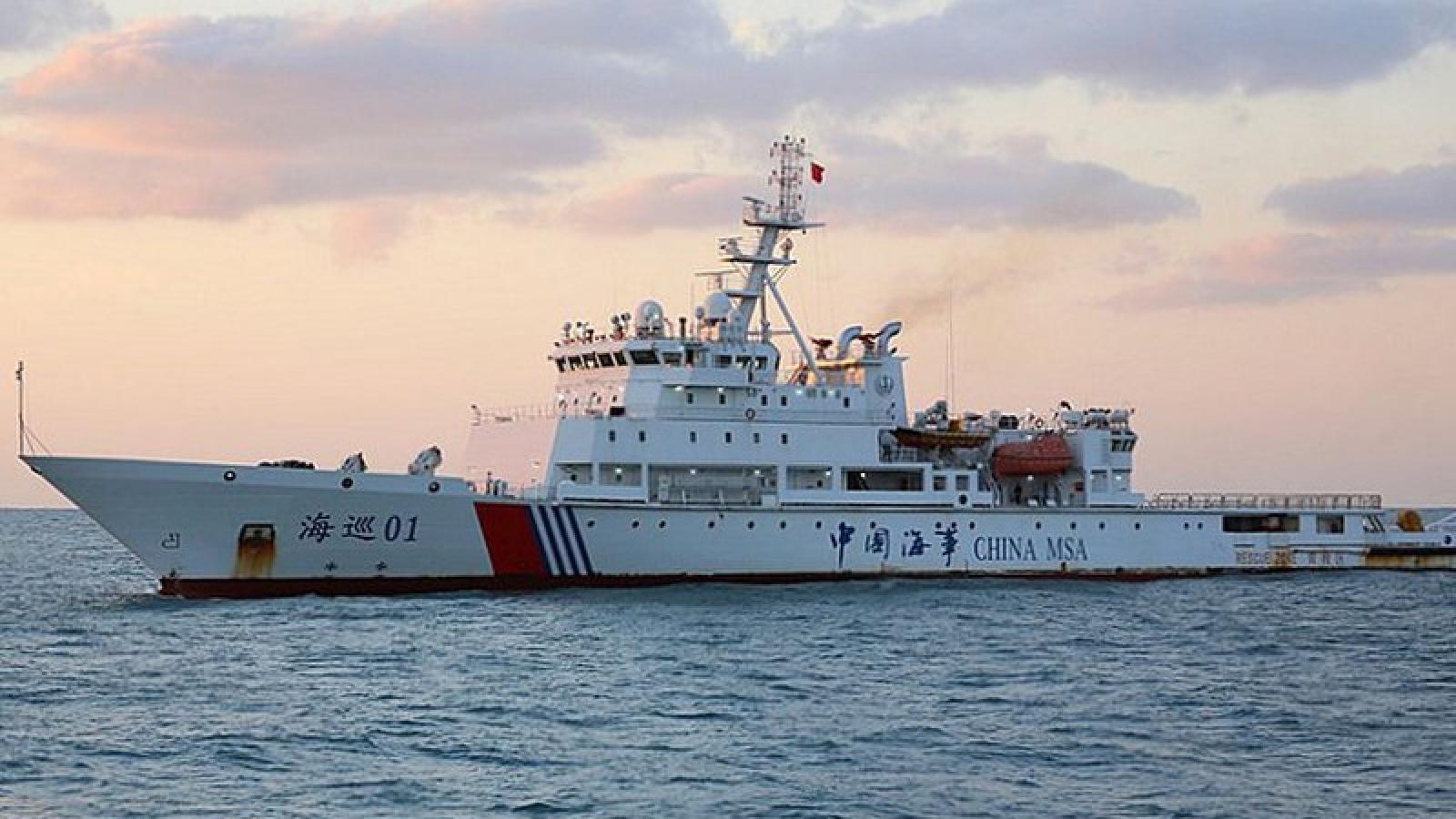 Nhật Bản phản ứng việc tàu Trung Quốc xâm nhập biển Hoa Đông