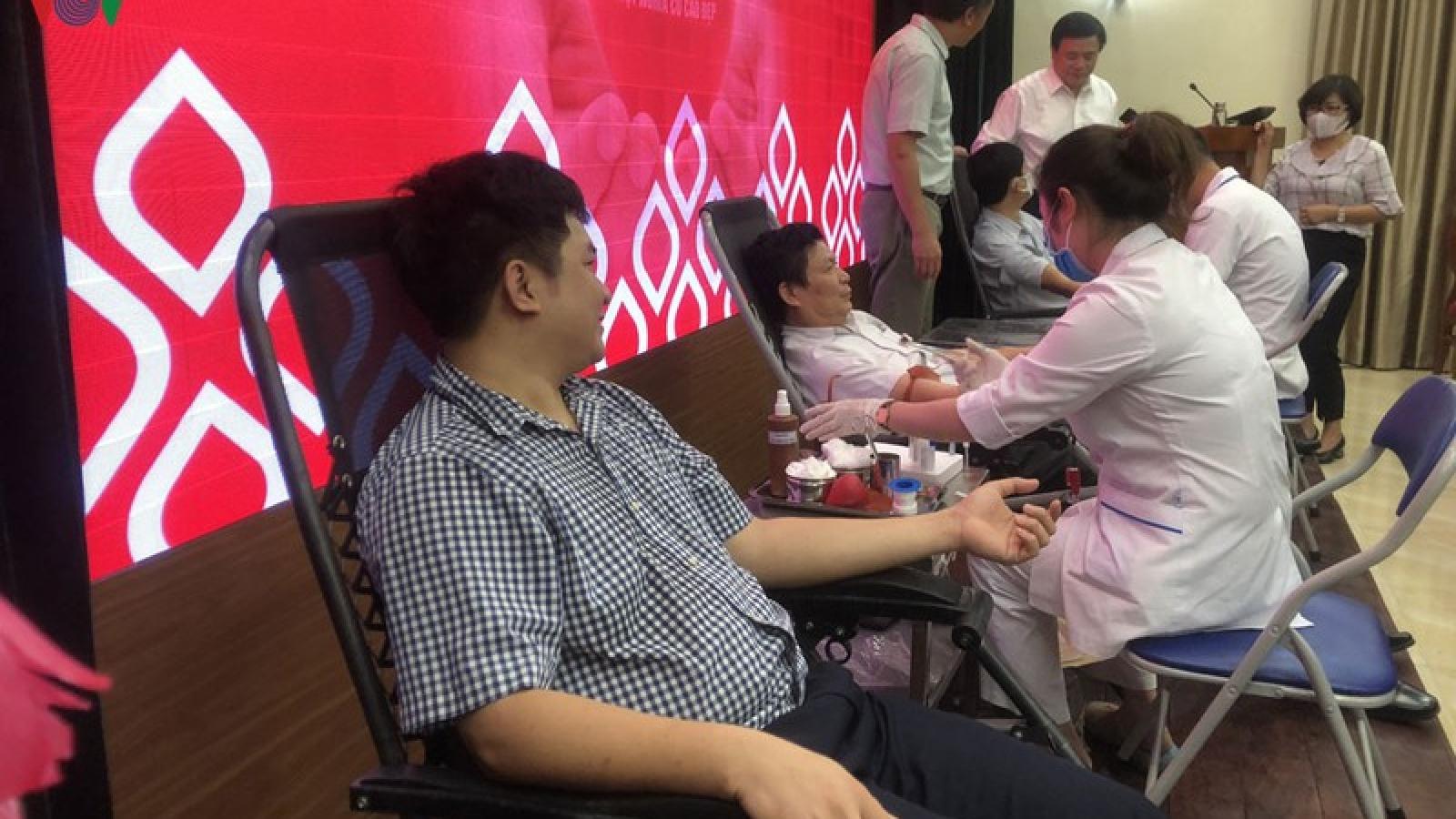 Học viện Chính trị quốc gia Hồ Chí Minh tổ chức hiến máu tình nguyện