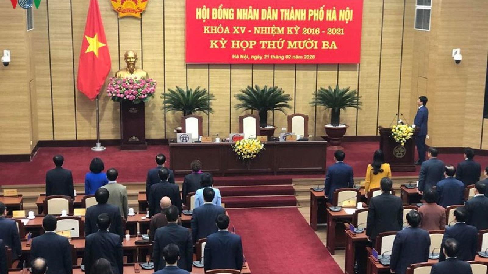 HĐND TP Hà Nội họp điều chỉnh kế hoạch đầu tư công và vốn ngân sách