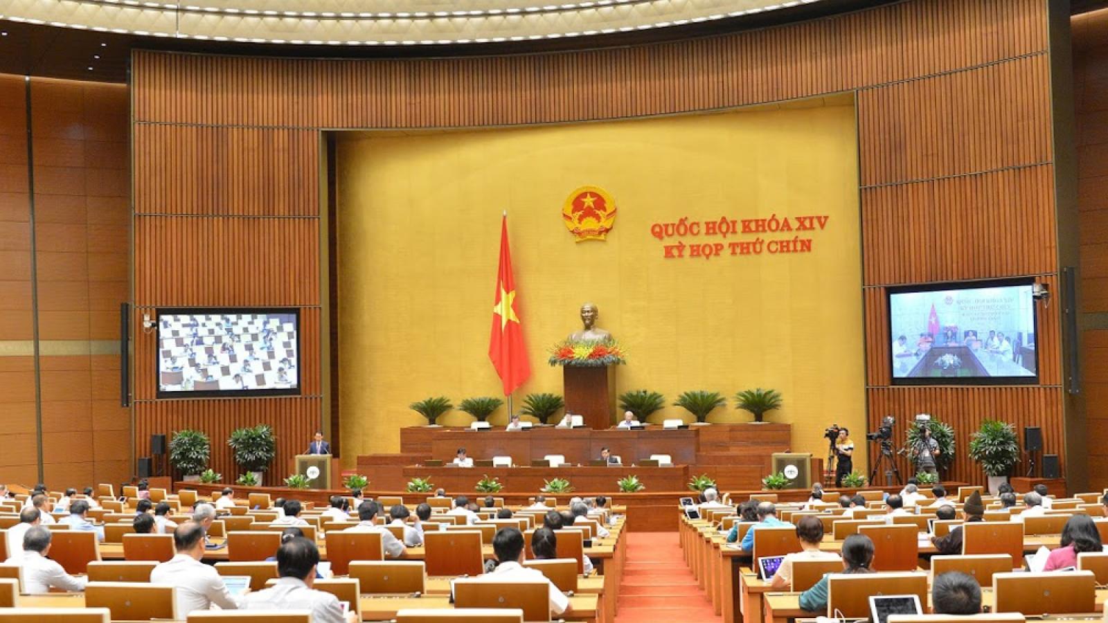 Điểm nhấn kỳ họp trực tuyến đầu tiên của Quốc hội