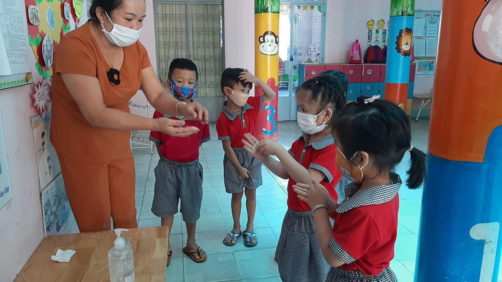 Tỷ lệ trẻ mầm non trở lại trường thấp sau nghỉ phòng dịch Covid-19