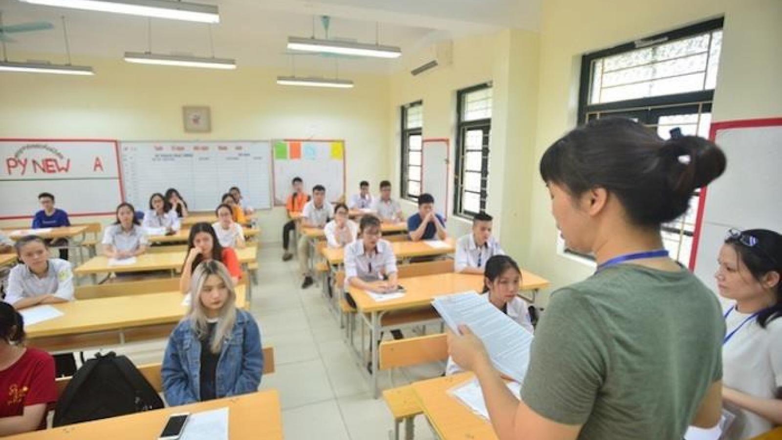Các địa phương giảm môn thi vào lớp 10 THPT