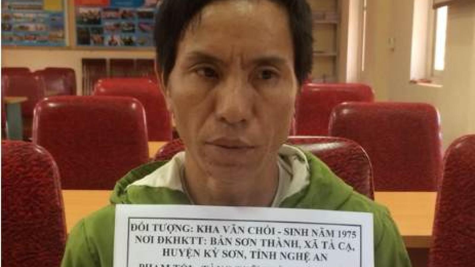 Bắt đối tượng vận chuyển ma túy qua biên giới về Việt Nam tiêu thụ