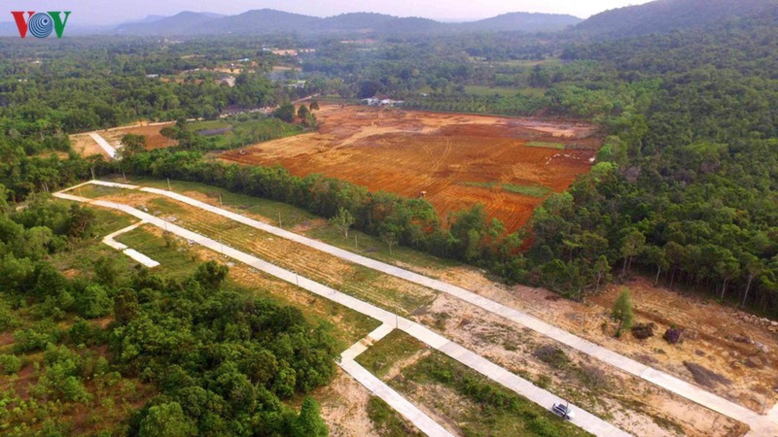 Sai phạm nghiêm trọng kéo dài trong quản lý đất đai tại Kiên Giang