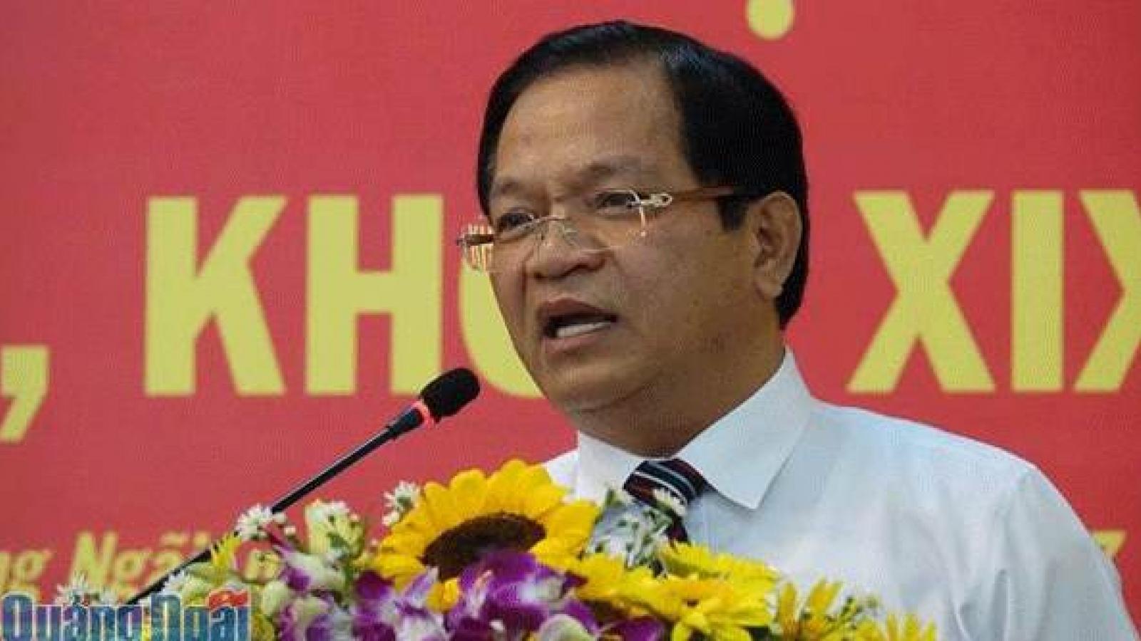 Xem xét kỷ luật Bí thư và Chủ tịch tỉnh Quảng Ngãi