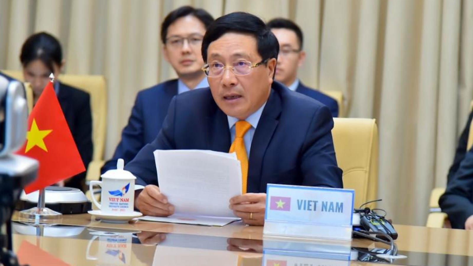 Toàn văn phát biểu của PTT Phạm Bình Minh tại phiên họp của HĐBA LHQ