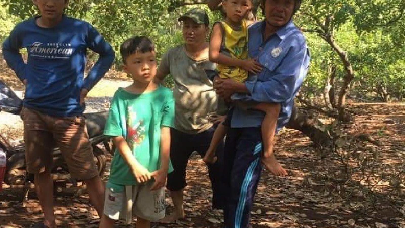 Đã tìm thấy 2 bé trai sinh đôi mất tích ở Bình Phước