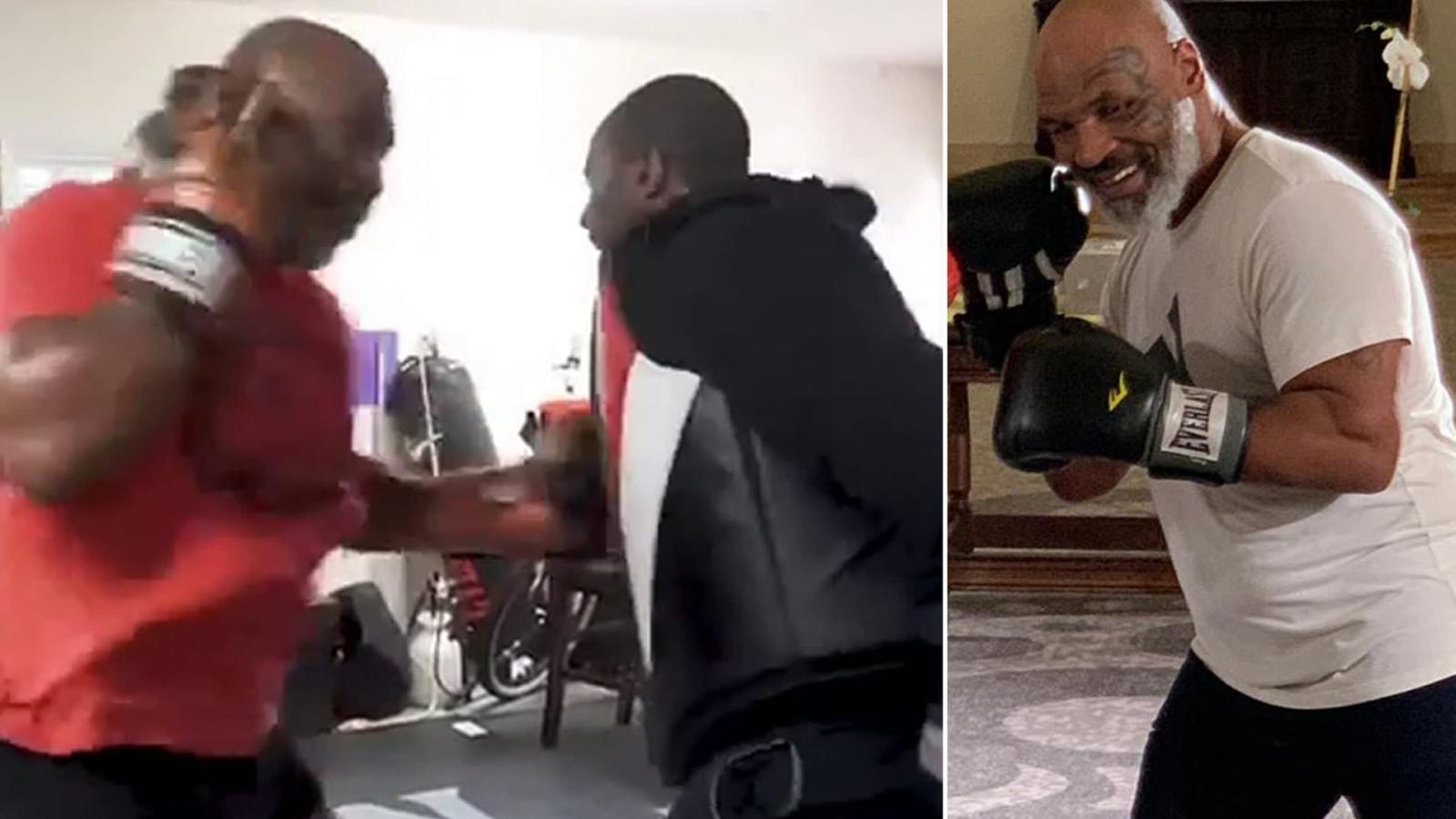 Mike Tyson thể hiện công lực thâm hậu ở tuổi 53