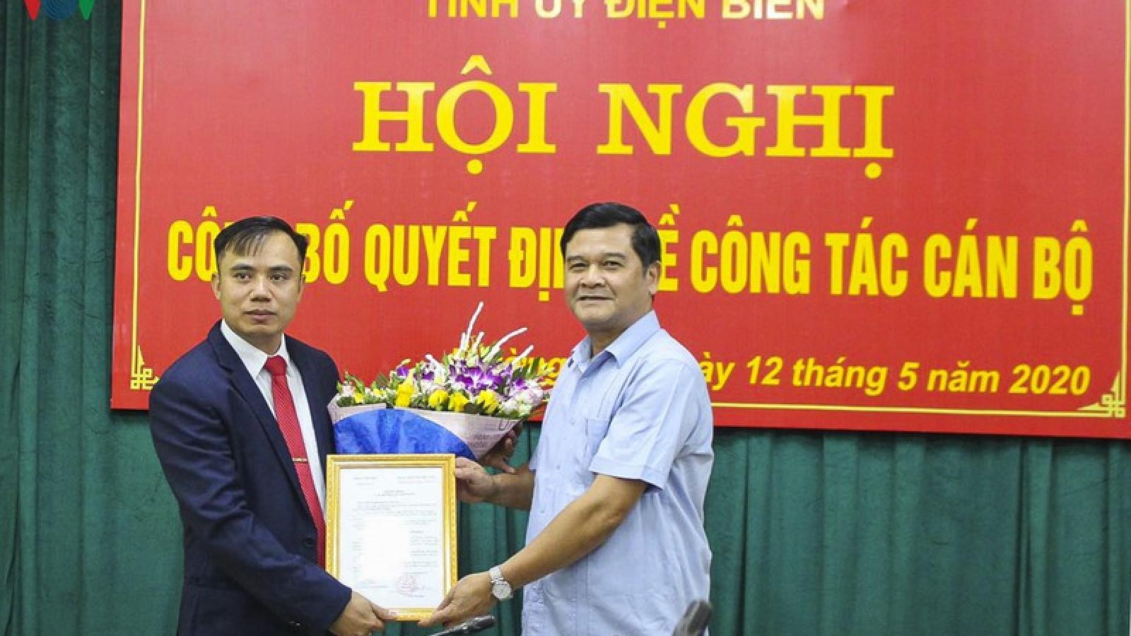 Chánh Văn phòng UBND tỉnh Điện Biên giữ chức Bí thư Mường Nhé