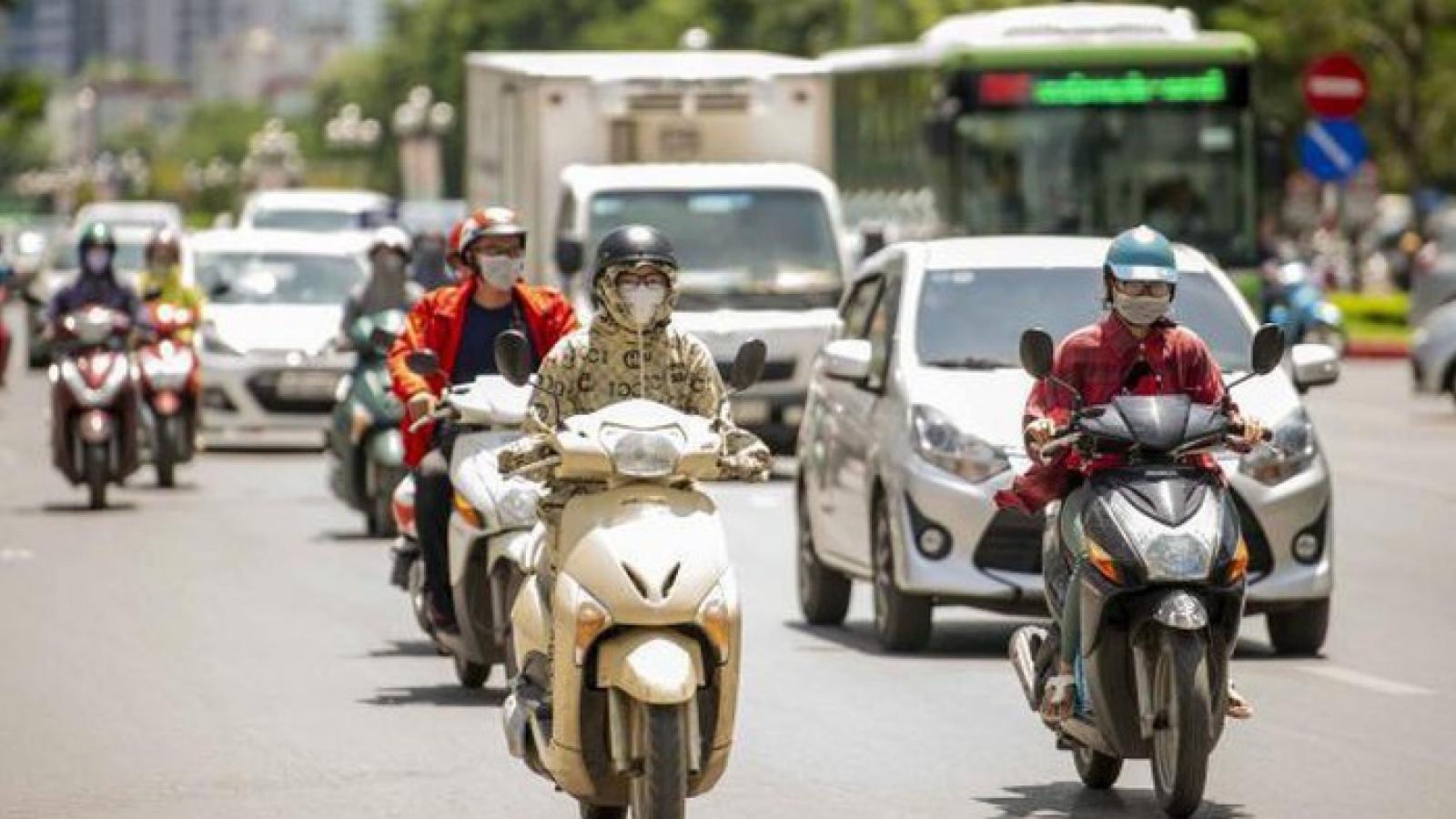 Thời tiết ngày 7/5: Hà Nội nắng nóng diện rộng