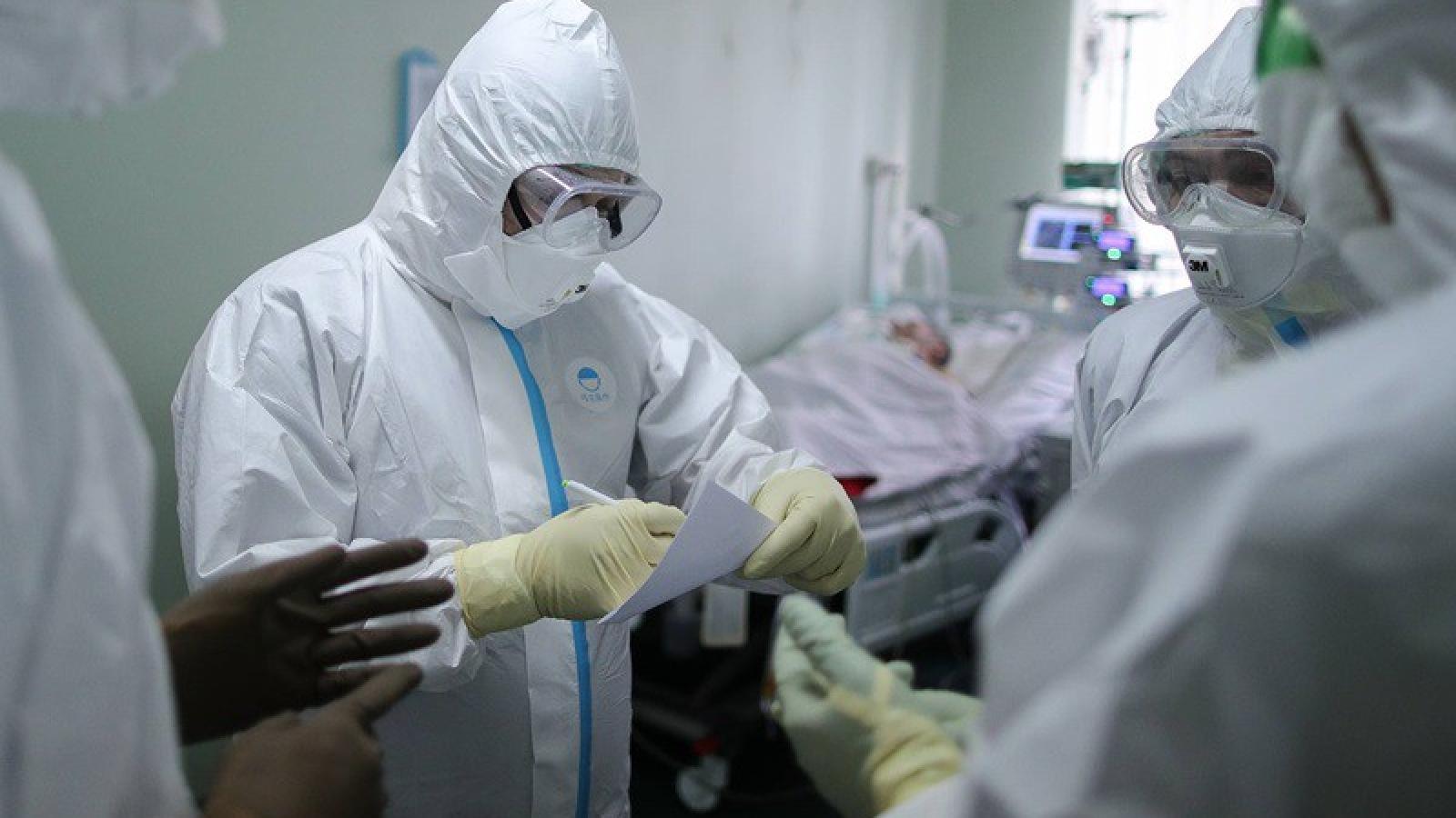Số ca nhiễm virus SARS-Cov-2 tại Nga đã vượt quá mốc 200.000