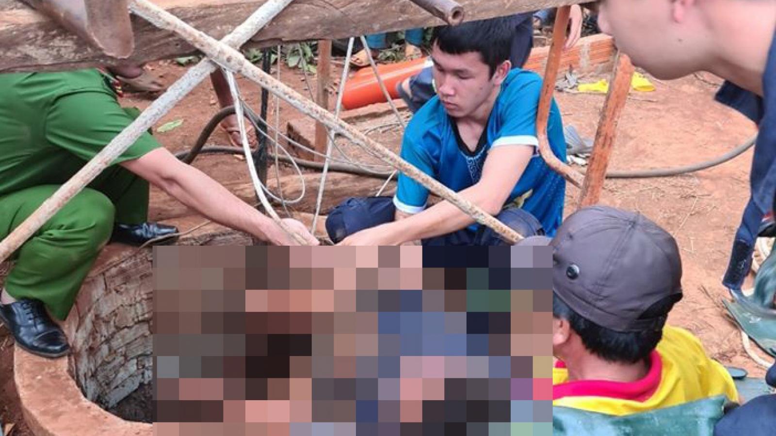 Nạo vét dưới giếng đào, 1 người tử vong vì ngạt khí